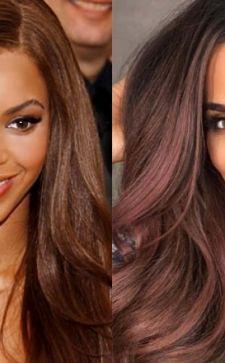 Шоколадный цвет волос: как подобрать оттенок