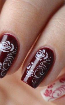 Как нарисовать розы на ногтях: простые и эффектные техники
