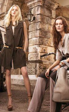 Женская и мужская одежда в стиле сафари
