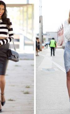 С чем носить короткий свитер: секреты и рекомендации дизайнеров