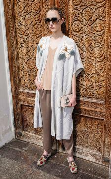 Длинные кардиганы: модные тенденции 2018 года
