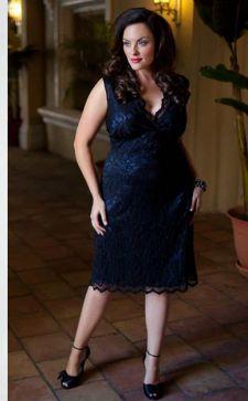 Красивые и модные фасоны платьев для полных женщин