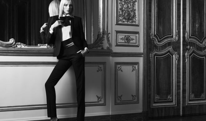 Женский смокинг: стиль и эффектность
