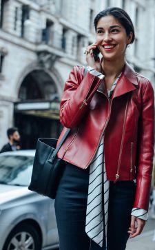 Модные кожаные куртки 2018-2019: шикарные варианты для девушек и женщин с любым жизненным ритмом