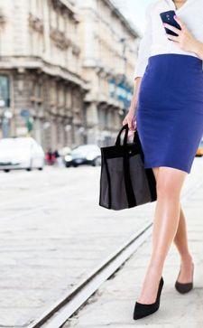 Юбка миди-длины: популярные фасоны и стильные сочетания