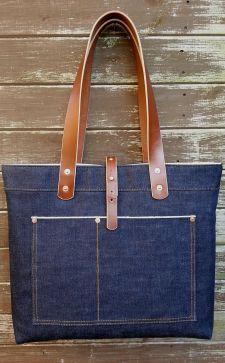 Джинсовые сумки: модные варианты