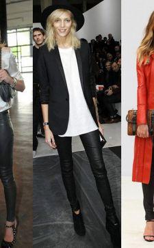 Женские черные брюки: с чем носить классические или зауженные модели