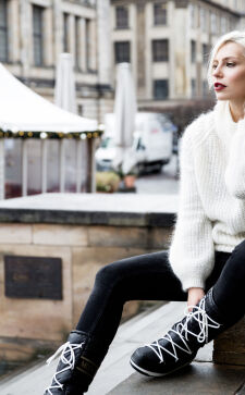 Зимняя обувь 2018 года: стильные дутики с эффектным дизайном
