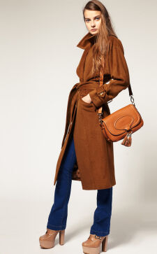 Модное женское пальто весна – осень 2017