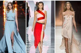 Модные вечерние платья весна-лето 2019
