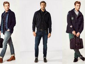 Модные мужские джинсы 2019: зауженные и широкие модели