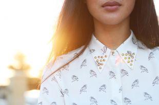 Как украсить женскую рубашку: варианты оригинального декора