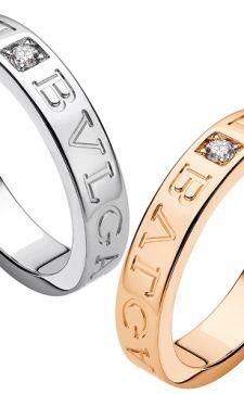 Обручальные кольца Bvlgari – показатель стиля и роскоши преуспевающих молодоженов