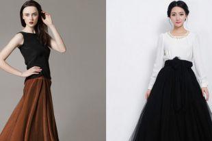 Модные юбки в пол: с чем носить и как правильно подобрать