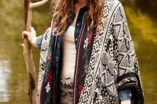 Женские кардиганы 2019 года: мода на вязаные вещи