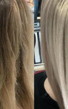Тонировка волос от желтизны: салонные и домашние процедуры