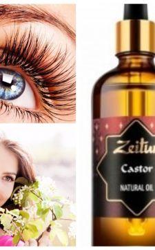Касторовое масло – полезное средство для бровей