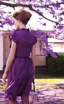 Сиреневый цвет в одежде и его сочетание с другими оттенками