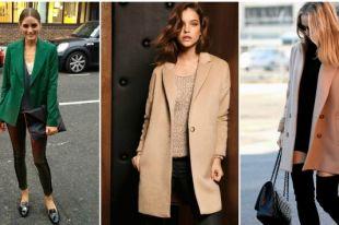 Как и с чем носить женское пальто-пиджак: стильные образы