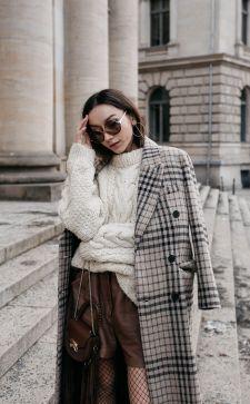 Двубортное пальто: актуальные модели 2019 года