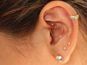 Пирсинг ушей: виды, украшения, рекомендации