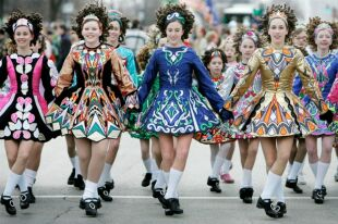 Ирландский национальный костюм: его специфика и развитие