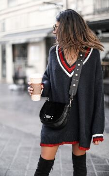 Вязаные платья: стильные идеи 2018 года, покоряющие стилем и комфортом