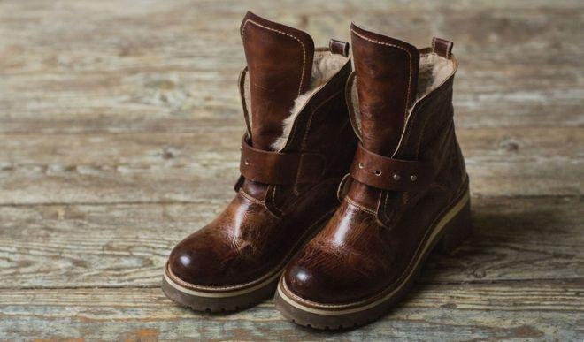 Ботинки с мехом — стильная обувь для на каждый день и для выхода в свет