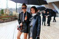 Кожаный плащ: стильные модели для настоящих модниц