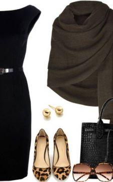 С чем носить черное платье: модные варианты и советы от стилистов