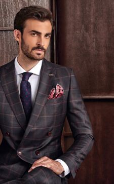Модные деловые мужские костюмы 2018