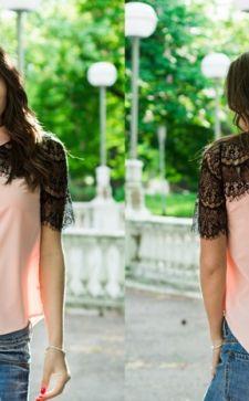 Ажурные гипюровые блузки – воплощение женственности и изящества