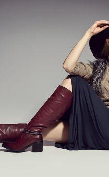 Модные сапоги на зиму 2016