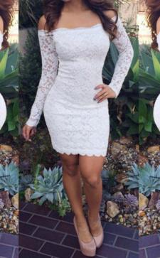Белые платья с кружевом: как выбрать подходящий вариант и с чем лучше носить