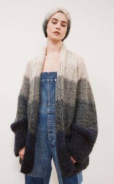 Кардиган из мохера – изысканная и оригинальная модель одежды на любой случай