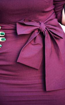 Сливовый цвет в одежде: кому идет и с чем сочетать