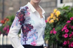 Стильные и элегантные женские рубашки 2018: изучаем модные тенденции осенне-зимнего сезона