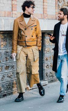 Мужские куртки из кожи 2019: модные тенденции для сильной половины человечества