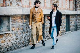 Мужские куртки из кожи 2018: модные тенденции для сильной половины человечества