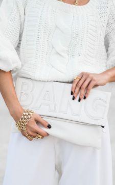 Модный белый цвет в одежде: красивые сочетания