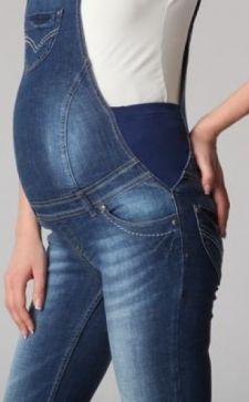 Модные джинсы и комбинезоны для беременных