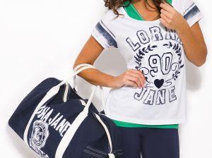 Стильные женские спортивные сумки: модные модели из кожи или ткани