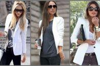 Женский белый пиджак – модный выбор на каждый день