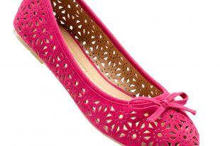 Розовые балетки: красивые образы