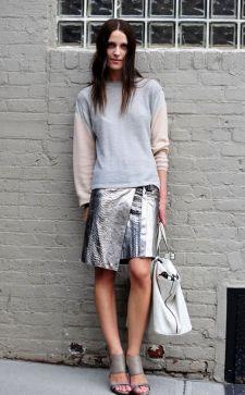 Асимметричная юбка: разнообразие модных образов