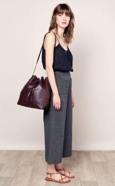 Сумка-мешок: креативные варианты оформления и стильные образы