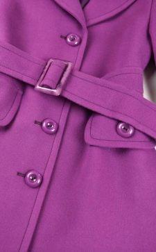 Фиолетовое пальто: лучшие модели и фасоны