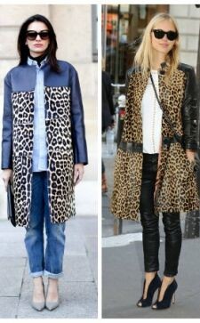 Леопардовое пальто – must have гардероба любого стиля