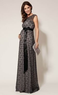 Вечерние платья для беременных: шарм и шик «интересного» положения