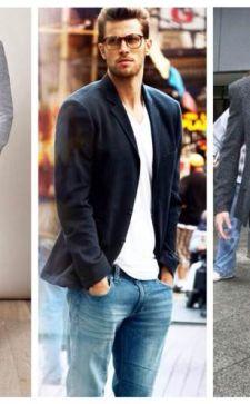 Как носить пиджак с джинсами: простые решения комбинирования образов